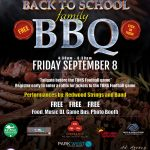 Redwood Elementary BBQ Flyer