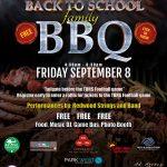 Redwood Elementary BBQ Flyer